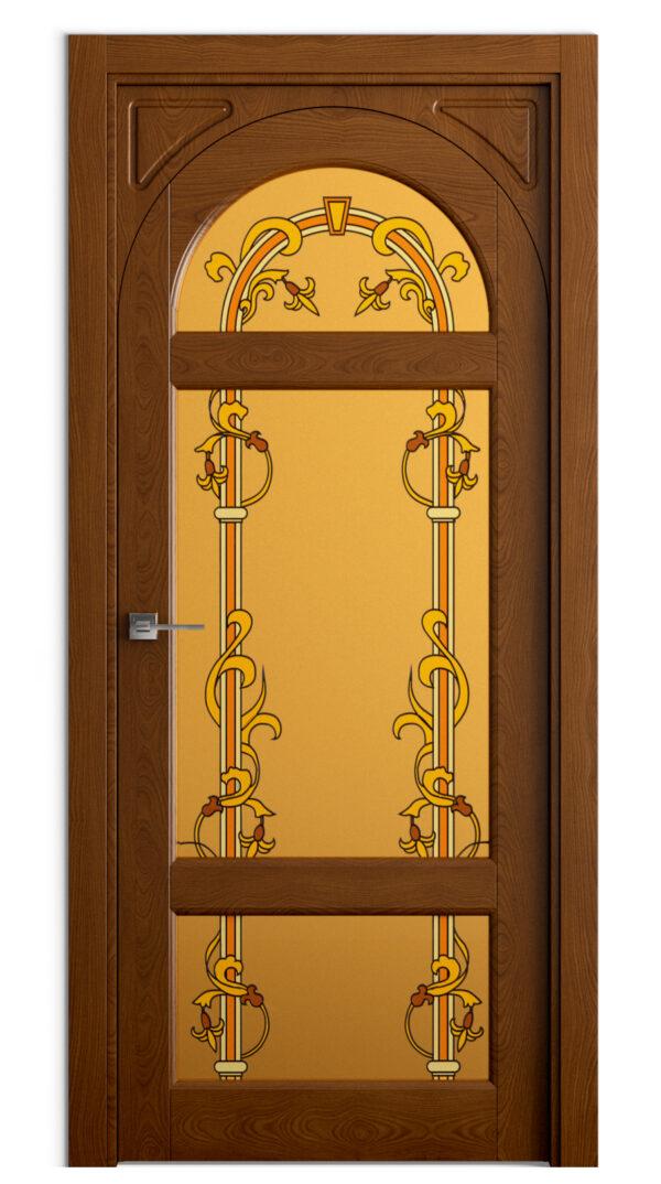 Дверь из массива сосны, дуба